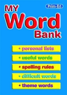 My Word Bank, Paperback Book