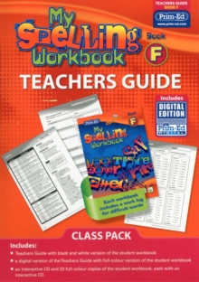 My Spelling Workbook Book F Class Pack, Mixed media product Book