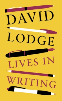 Lives in Writing, Hardback Book