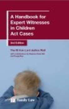 A Handbook for Expert Witnesses in Children Act Cases, Paperback / softback Book