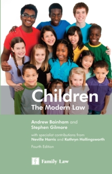 Children : The Modern Law, Paperback Book