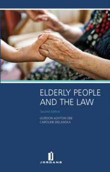 Elderly People and the Law, Paperback Book
