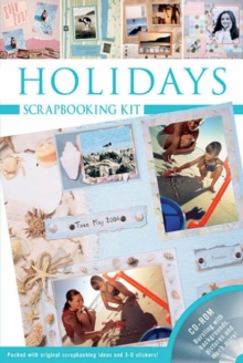 Holidays : Scrapbooking Kit, Spiral bound Book