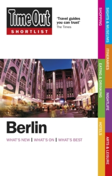 Time Out Shortlist Berlin 2nd edition, Paperback / softback Book