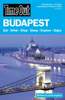 Time Out Budapest, Paperback Book