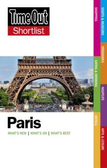 Time Out Paris Shortlist, Paperback Book