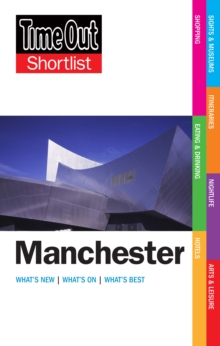 Time Out Manchester Shortlist, Paperback / softback Book