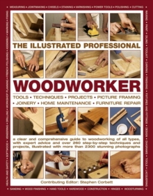 Illustrated Professional Woodworker, Paperback Book