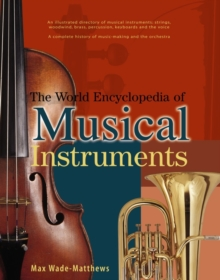 World Encyclopedia of Musical Instruments, Paperback Book