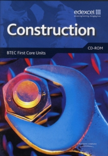 Construction: BTEC Level 2 First Core Units Networkable CD-ROM, CD-ROM Book