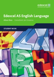 Edexcel AS English Language Student Book, Paperback / softback Book