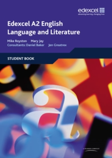 Edexcel A2 English Language and Literature Student Book, Paperback Book
