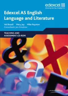 Edexcel AS English Language and Literature Teaching and Assessment CD-ROM, CD-ROM Book