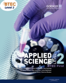 BTEC Level 2 First Applied Science Student Book, Paperback Book