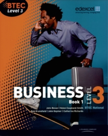 BTEC Level 3 National Business Student Book 1 : Book 1, Paperback Book