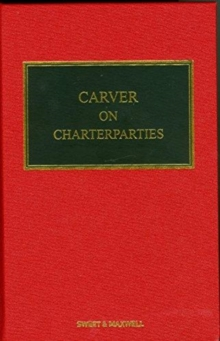Carver on Charterparties, Hardback Book