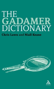 The Gadamer Dictionary, Hardback Book