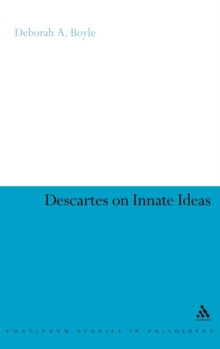 Descartes on Innate Ideas, Hardback Book