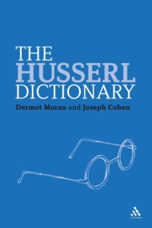 The Husserl Dictionary, Paperback Book