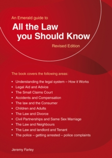 All The Law You Should Know, Paperback / softback Book
