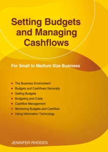 Setting Budgets And Managing Cashflows : For Small to Medium Size Business, Paperback / softback Book