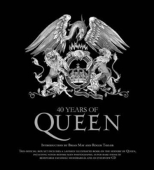 40 Years of Queen, Mixed media product Book