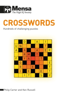 Mensa B: Crossword Puzzles : Hundreds of Challenging Puzzles, Paperback Book