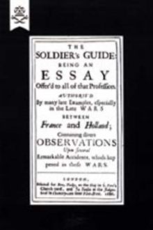 Soldier's Guide (1686), Hardback Book