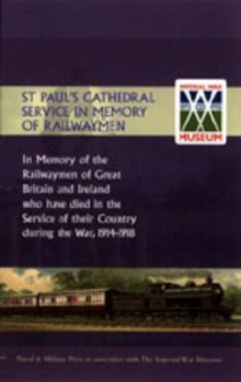 St Paul's Cathedral Service in Memory of Railway Men, Hardback Book