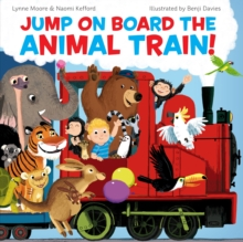 Jump On Board the Animal Train, Paperback Book