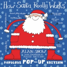 How Santa Really Works Pop-Up, Hardback Book