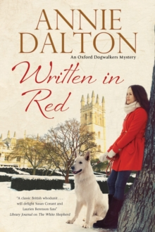 Written in Red : A Spy Thriller Set in Oxford with Echoes of the Cold War, Paperback Book