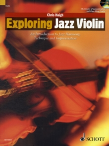 Exploring Jazz Violin : An Introduction to Jazz Harmony, Technique and Improvisation, Mixed media product Book