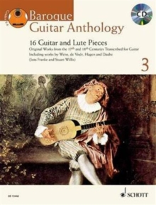 Baroque Guitar Anthology : 16 Guitar and Lute Pieces v. 3, Mixed media product Book