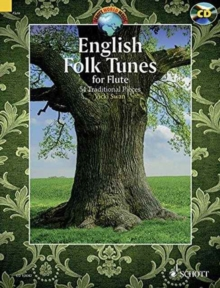 English Folk Tunes for Flute : 54 Traditional Pieces, Mixed media product Book