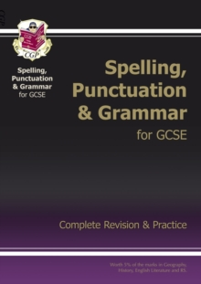 Spelling, Punctuation and Grammar for Grade 9-1 GCSE Complete Study & Practice (with Online Edition), Paperback / softback Book
