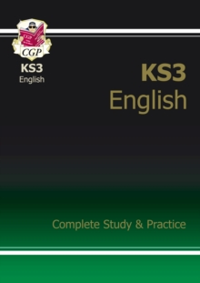 KS3 English Complete Study and Practice (With Online Edition), Paperback Book