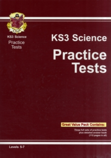 KS3 Science Practice Tests, Paperback / softback Book