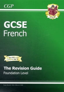 GCSE French Revision Guide - Foundation (A*-G Course), Paperback Book
