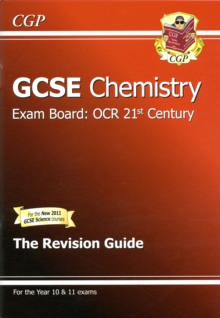 GCSE Chemistry OCR 21st Century Revision Guide (with Online Edition) (A*-G Course), Paperback Book