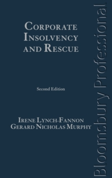 Corporate Insolvency and Rescue, Hardback Book