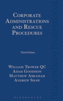 Corporate Administrations and Rescue Procedures, Hardback Book