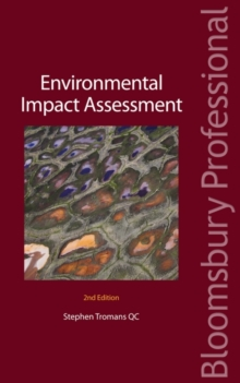 Environmental Impact Assessment, Paperback Book