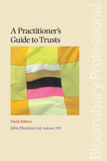 A Practitioner's Guide to Trusts, Paperback Book
