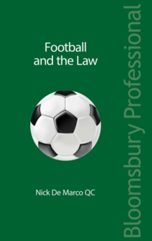 Football and the Law, Paperback / softback Book