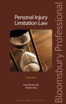Personal Injury Limitation Law, Paperback / softback Book