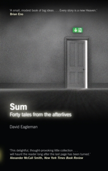 Sum : Forty Tales from the Afterlives, Paperback / softback Book