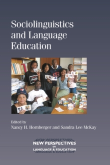 Sociolinguistics and Language Education, Paperback Book
