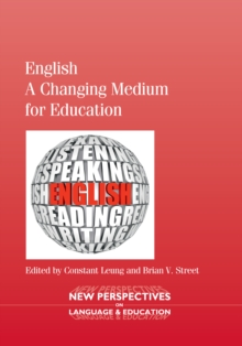 English - A Changing Medium for Education, Hardback Book