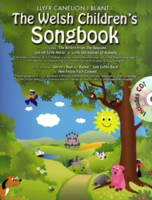 The Welsh Children's Songbook (book & Cd), Paperback Book